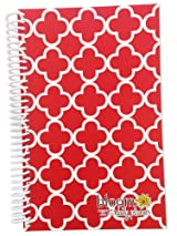 2014-15 Academic Year bloom Daily Day Planner Fashion Organizer Agenda August 2014 Through July 2015 Red Quatrefoil