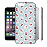 Shabby Chic Florals on Blue Phone Hard Shell Case for Apple iPhone 6 Plus 5S 5C 5 4 iPod & more - Apple iPhone 6
