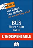 echange, troc Plans Indispensable - Plan de ville : Paris Poche (lignes et stations)