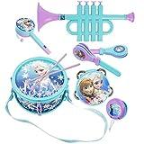 Disney - Frozen: El Reino del Hielo - Equipo de Música - 6 Instrumentos de Plástico