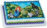 Disney Brave Cake Toppers (Blue/Green) Party Accessory