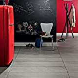Kingfisher Rugs Colonia Balmoral Grey Slate Vinyl Flooring Tiles