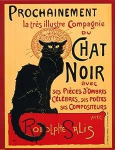 Theophile Steinlen Tournee du Chat Noir Art Print Poster - 16x20