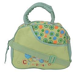 WonderKart Multi Purpose Baby Diaper Shoulder Bag - Green