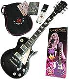 Gypsy Rose ( ジプシーローズ ) GRE2K/CBK シャンパンブラック 7/8サイズガールズ仕様ギターセット