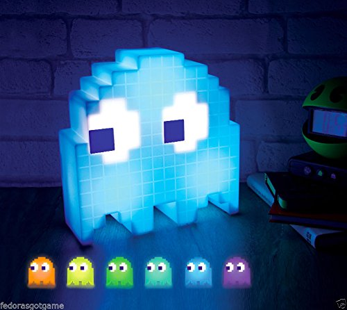 Pac Man Ghost Light USB Powered Multi Colored Lamp