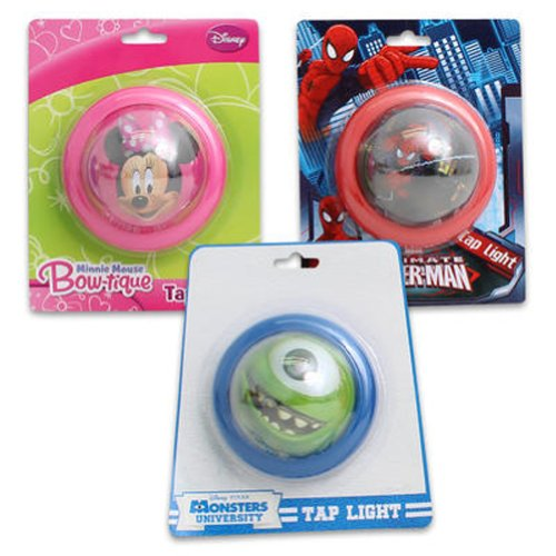 Charater Licensed Night Light (Min+Mon+Spider 3 Pack) - 1