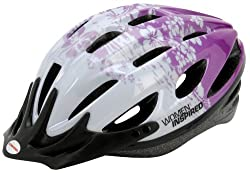 Schwinn Artemis Adult Women Micro Bicycle Helmet (Colors and Graphics May Vary) by Pacific Cycle
