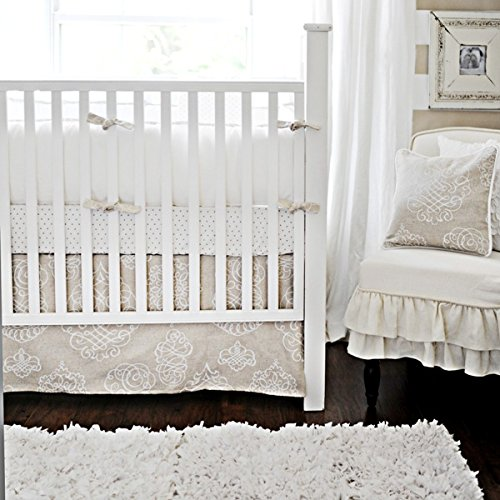 New Arrivals Crib Set, Pebble Moon, 2 Count