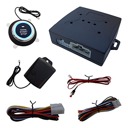 Cheap New Upgrade 1 Way Car Alarm System Engine Start Stop