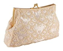 Carlo Fellini - Adriana Evening Bag (61 2210) (Champagne)