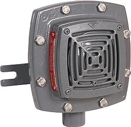 Edwards Signaling 878EX-N5 Vibrating Horn, 110/100 db, Heavy Duty Explosion Proof, 120V AC, Gray