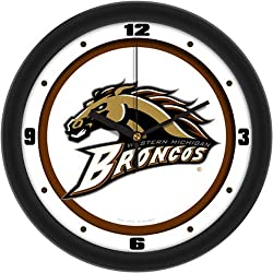 Western Michigan Broncos NCAA Wall Clock