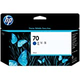 HP 70 Blue 130 Ml Ink Cartridge Use In Hp Designjet Printer