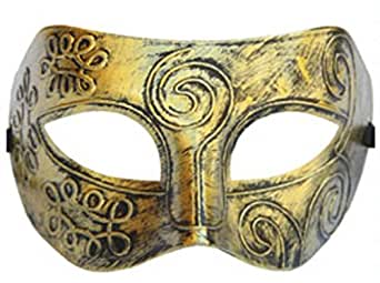 PVC Half_face Mask Men Eye Mask Masquerade Ball Costume Party Fancy Dress Mask