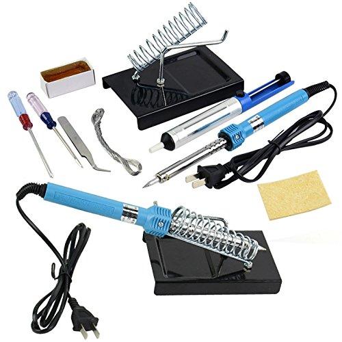 9 In1 Diy Electric Soldering Solder Iron Starter Tool Kit Set
