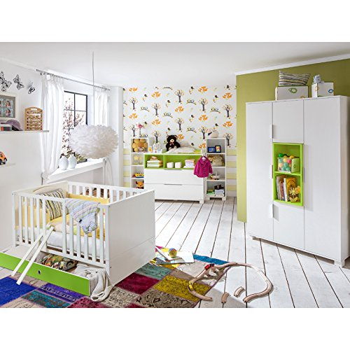 Babyzimmer Set »RISONU166« alpinweiß, rosa jetzt kaufen