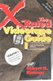 X-Rated Videotape Guide 1 (No. 1) (087975799X) by Rimmer, Robert H.