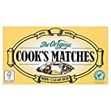 Cook's The Original Safety Matches (Pack of 12 x box)