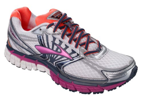 detailed look 93989 98c0a Brooks Women s Adrenaline GTS 14 Running Shoes, Color   White Fuschia Midnight,