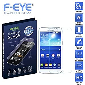 F-EYE® Samsung Galaxy Express 2 Tempered Glass Screen Protector - HD Clear - 2.5 Round Edge