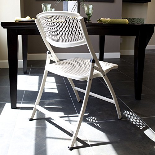 Flex One Folding Chair White 4 Pack Furniture Chairs