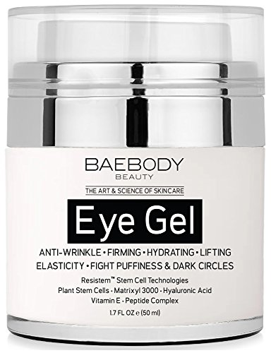 Baebody Eye Cream for Dark Circles, Puffiness, Wrinkles and Bags - The Most Effective Anti Aging Eye Gel for Under and Around Eyes - 1.7 fl oz (Super C Sleep compare prices)