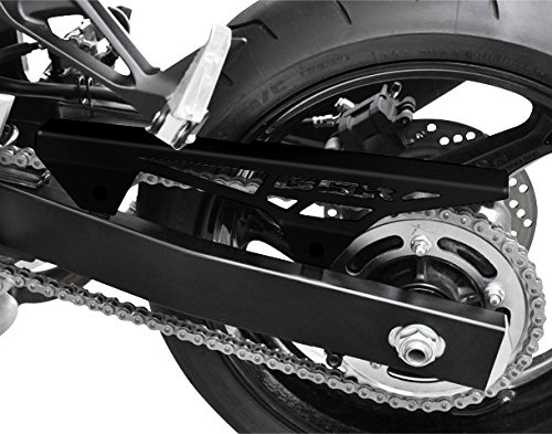 Carter de chaine Suzuki GSR 750 11-16 noir logo