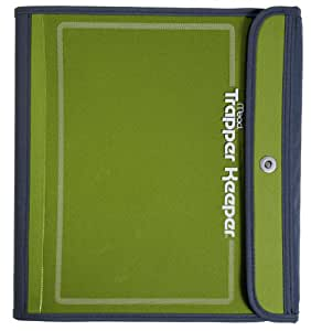 Mead Trapper Keeper Sewn Binder, 3 Ring Binder, 1.5 Inch, Green (72181)