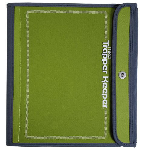Trapper Keeper Binder, 1.5-Inch, Green (72181)
