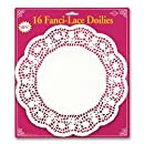 Fanci-Lace White Bond Doilies Party Accessory (1 count) (16/Pkg)