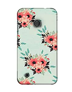 Pick Pattern Back Cover for Nokia Lumia 530(Matte)