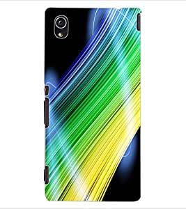 ColourCraft Abstract Image Design Back Case Cover for SONY XPERIA M4 AQUA