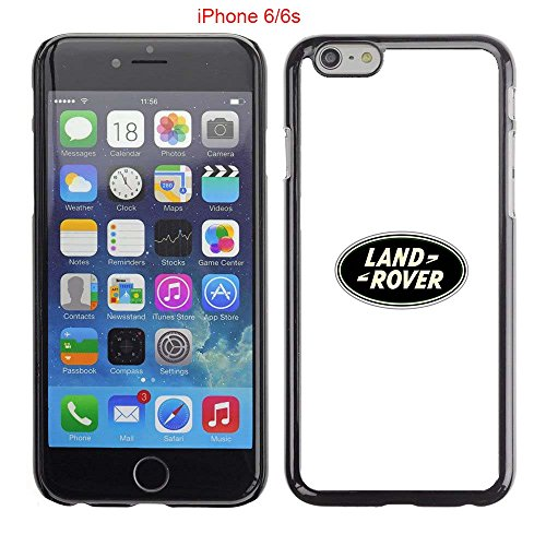 iPhone 6 Case, iPhone 6S Cases, Land Rover Symbol 4 Drop Protection Never Fade Anti Slip Scratchproof Black Hard Plastic Case (Land Rover Mobile Phone compare prices)