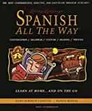 Spanish All The Way: Learn at Home and On the Go (Living Language All the Way Series) Book and audio cassettes (0517583720) by Stern, Irwin