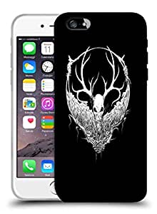 Snoogg White Fury Face Designer Protective Back Case Cover For IPHONE 6 PLUS