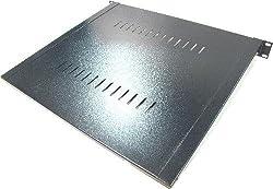 Cablematic - Bandeja de fijación frontal de 1U y fondo 400 mm
