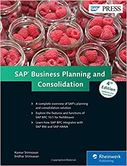 SAP Business Planning And Consolidation (4th Edition)