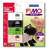 Staedtler Fimo Soft Set Kits For Kids Farm 8024 33 L2