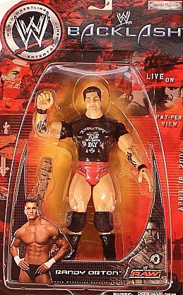 Buy Low Price Jakks Pacific WWE PPV Backlash Final Encounter Action Figures: Randy Orton (B004QD2GLS)