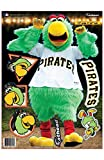 MLB Pittsburgh Pirates Parrot Fathead Teammate Wall Decal, 11 x 16-Inch, Black