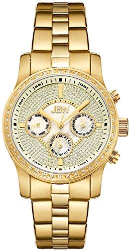 JBW Reloj con movimiento cuarzo suizo Woman Vixen Dorado 37 mm