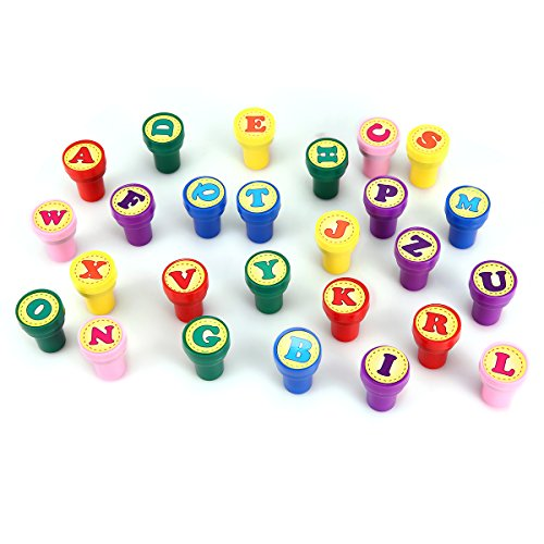 Stamps for kids luckybird best sell self inking plastic for Self inking letter stamps