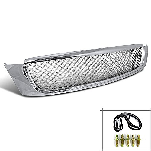 Spec-D Tuning HG-DVL00C Cadillac Deville Dhs Base Dts Chrome Mesh Front Grill Grille (Cadillac Deville Grilles compare prices)