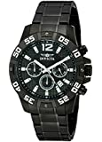 Invicta Men's 1505 Chronograph Black Ion-Plated Stainless-Steel Watch