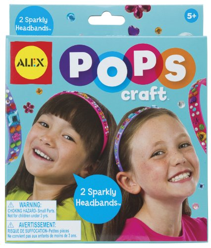 ALEX Toys POPS Craft 2 Sparkly Headbands - 1