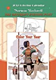Norman Rockwell 2012 Coloring Book Calendar (0764957341) by Rockwell, Norman