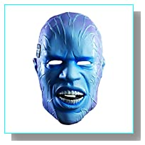 Rubie's Costume Men's The Amazing Spider-man 2 Adult Electro Overhead Deluxe Latex Mask, Multi, One Size