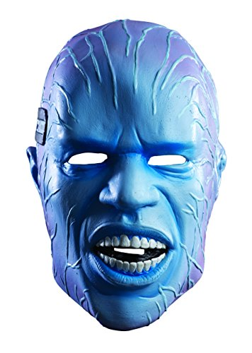 Rubie's Costume Men's Amazing Spiderman 2 Electro Overhead Deluxe Latex Mask