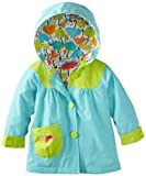 ABSORBA Baby-Girls Infant Color Block Rain Coat